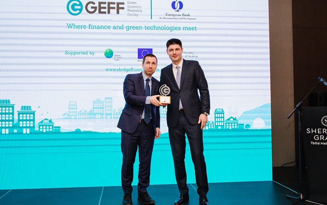 """Photo of """"არქი თაუერი"""" EBRD-მა საუკეთესო ენერგოეფექტურ საცხოვრებელ კომპლექსად დაასახელა"""