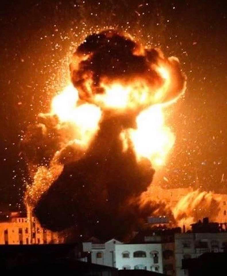 "Photo of ,,ისრაელმა იმ ჯიჰადისტური ორგანიზაციების პოზიციების დაბომბვა დაიწყო, რომელთა უკანაც ირანი დგას"""