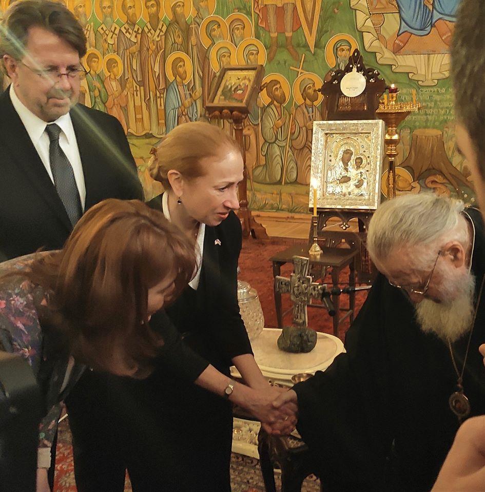 """Photo of ,,თქვენი ლოცვებით და ღვთის შეწევნით, რა თქმა უნდა, ყველაფერი მოგვარდება…""""_ ამერიკის ელჩი ილია მეორეს"""