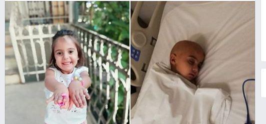 Photo of 5 წლის, სიცოცხლით სავსე, ფარფატა გოგო, დღეს თავის ტვინის სიმსივნეს ებრძვის…