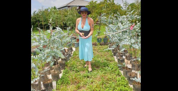 Photo of ლალი მოროშკინა ევკალიპტების ბაღის დიასახლისი გახდა_ ინოვაციური პროექტი სუფსაში