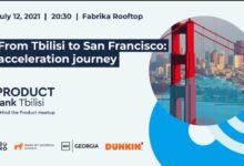"Photo of საქართველოს ბანკის მხარდაჭერით ProductTank-ის მორიგი შეხვედრა ""From Tbilisi to San Francisco: Acceleration Journey"" გაიმართება"